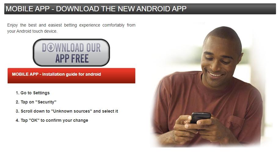 M Bet app download