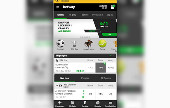 Betway app free download