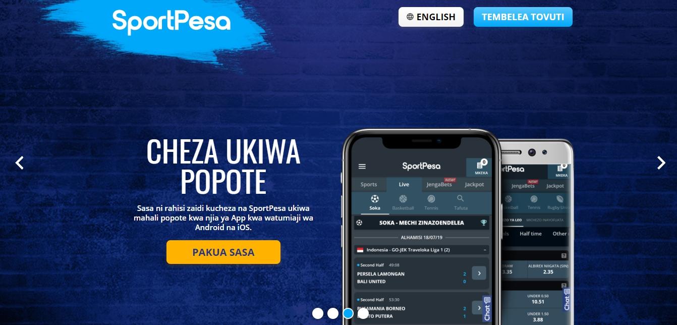 Mobile site SportPesa