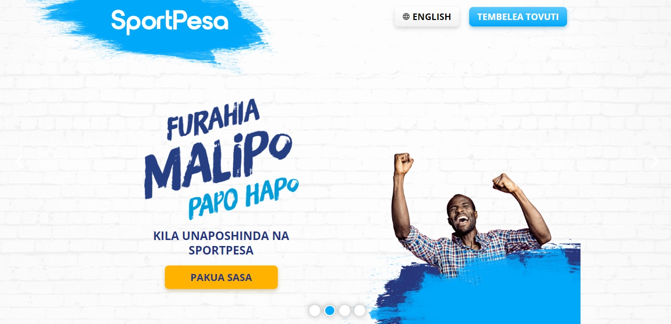 SportPesa app Tanzania on Android
